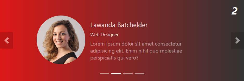 Слайдер для отзывов на чистом CSS и JavaScript