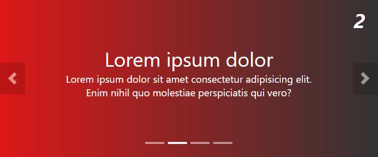 Слайдер для текста на чистом CSS и JavaScript