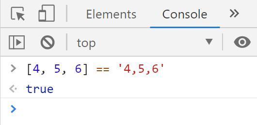 Сравнение значений в JavaScript